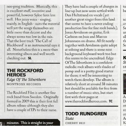 Classic Rock review May 2013
