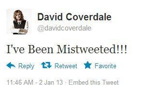 David Coverdale twitter