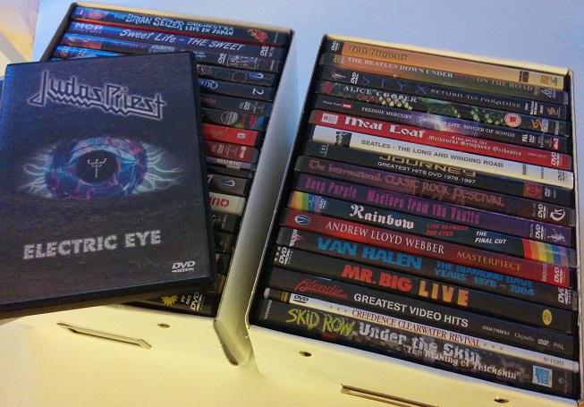 Musik-DVD säljes